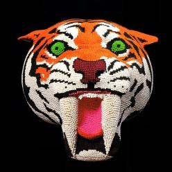 Matcheads by David Mach - Matches art - Chicquero - Tiger sabre tooth