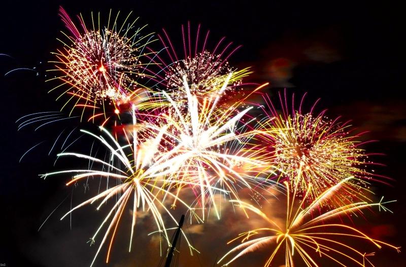 fireworks photography - new years 2013 - chicquero - 3