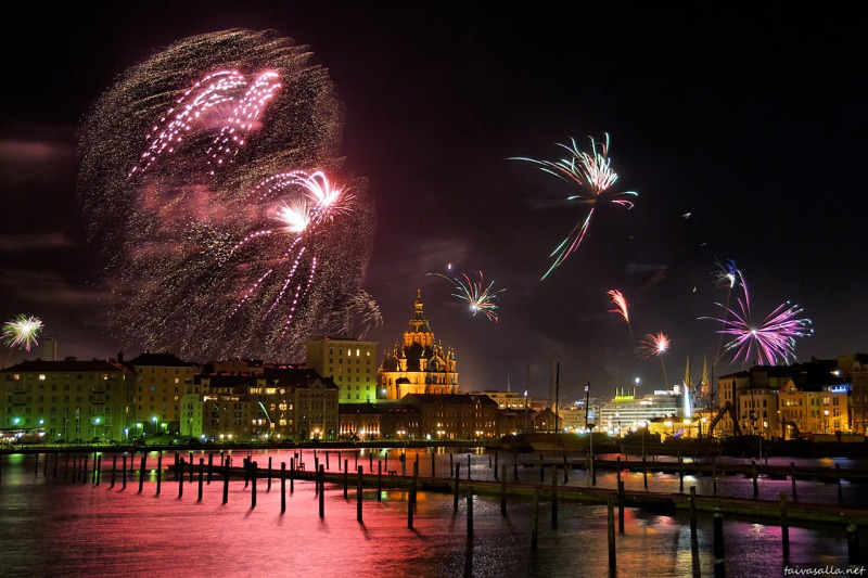 fireworks photography - new years 2013 - chicquero - 4