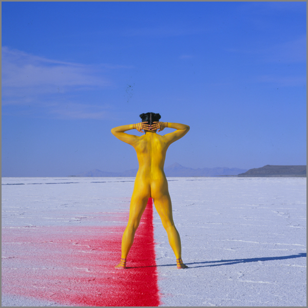 Jean Paul Bourdier - Painted bodies landspace photography - Chicquero Arts - 1