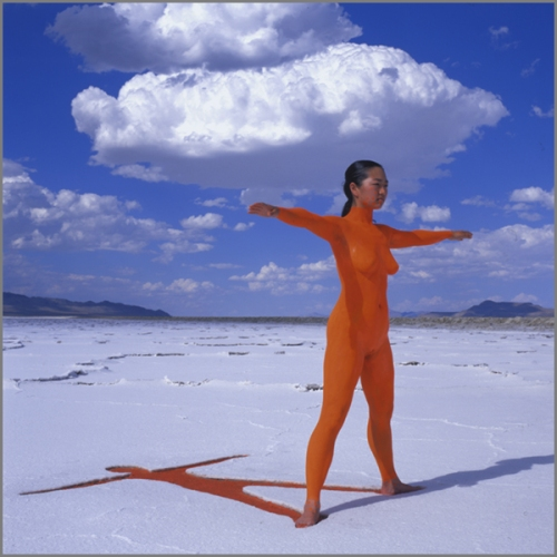 Jean Paul Bourdier - Painted bodies landspace photography - Chicquero Arts - 10