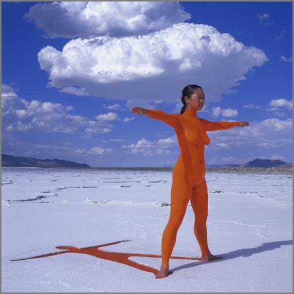 Jean Paul Bourdier - Painted bodies landspace photography - Chicquero Arts - 10