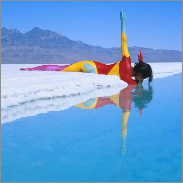 Jean Paul Bourdier - Painted bodies landspace photography - Chicquero Arts - 12