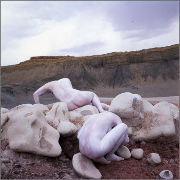 Jean Paul Bourdier - Painted bodies landspace photography - Chicquero Arts - 17