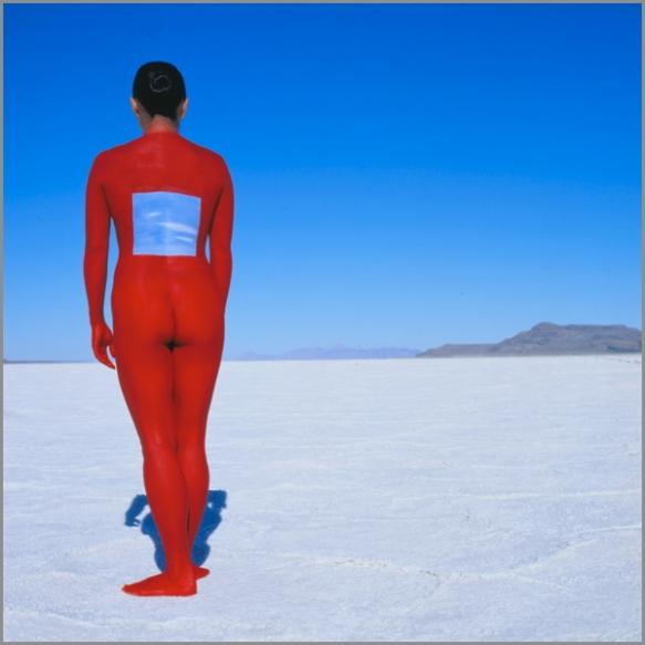 Jean Paul Bourdier - Painted bodies landspace photography - Chicquero Arts - 19