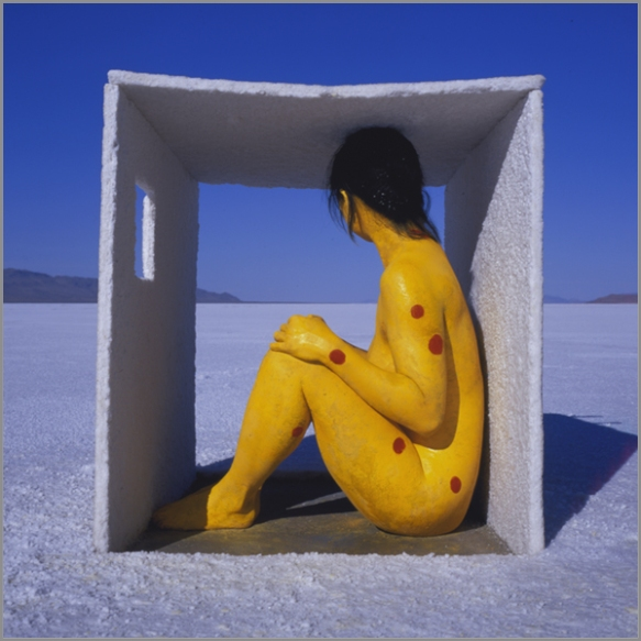 Jean Paul Bourdier - Painted bodies landspace photography - Chicquero Arts - 21