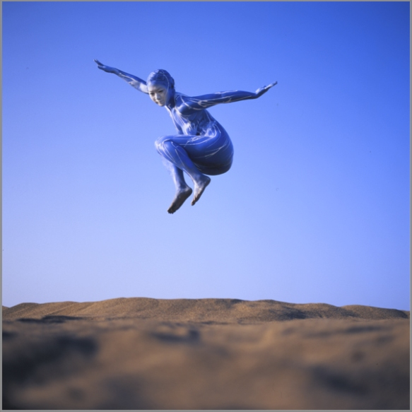 Jean Paul Bourdier - Painted bodies landspace photography - Chicquero Arts - 23