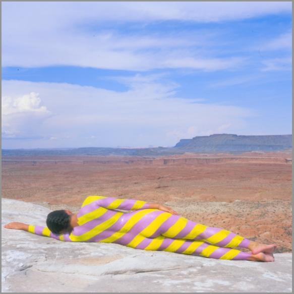 Jean Paul Bourdier - Painted bodies landspace photography - Chicquero Arts - 36