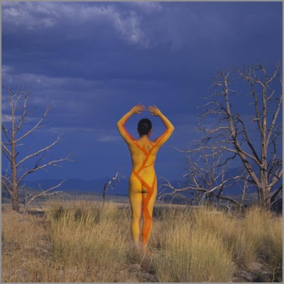 Jean Paul Bourdier - Painted bodies landspace photography - Chicquero Arts - 41