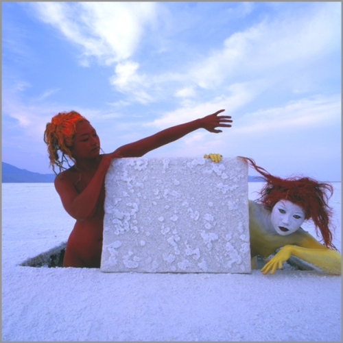 Jean Paul Bourdier - Painted bodies landspace photography - Chicquero Arts - 42