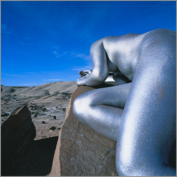 Jean Paul Bourdier - Painted bodies landspace photography - Chicquero Arts - 45
