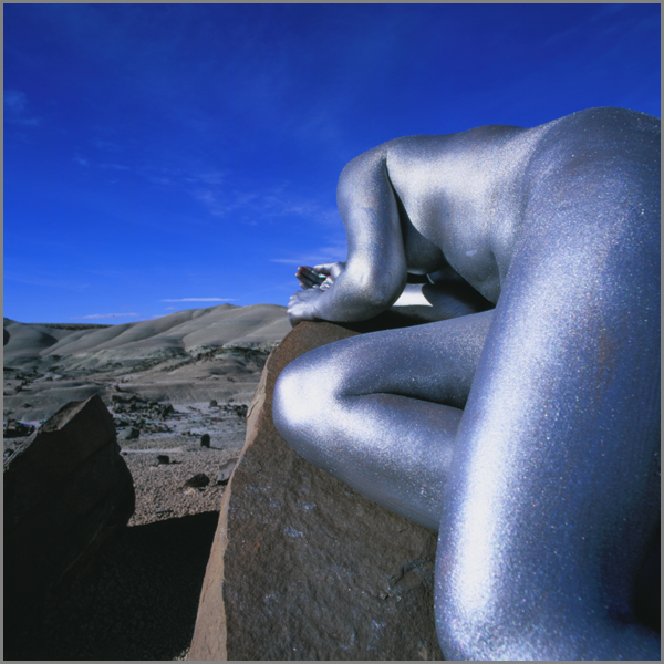 Jean Paul Bourdier - Painted bodies landspace photography - Chicquero Arts - 45