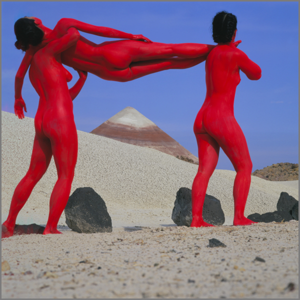 Jean Paul Bourdier - Painted bodies landspace photography - Chicquero Arts - 46