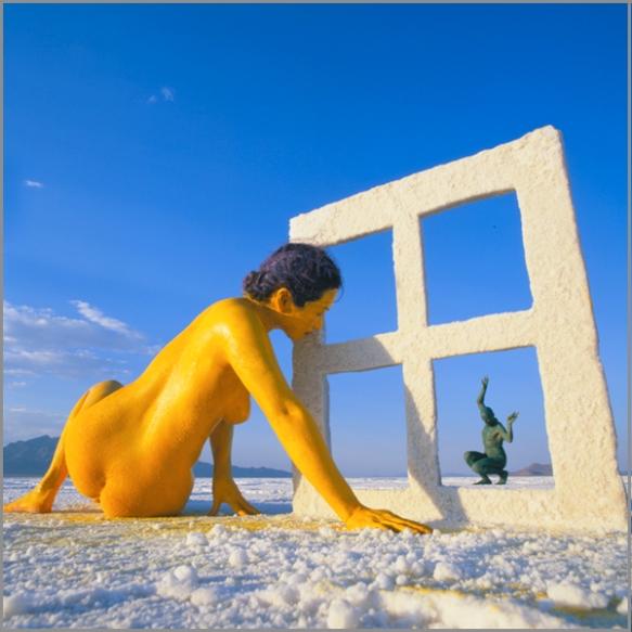 Jean Paul Bourdier - Painted bodies landspace photography - Chicquero Arts - 5