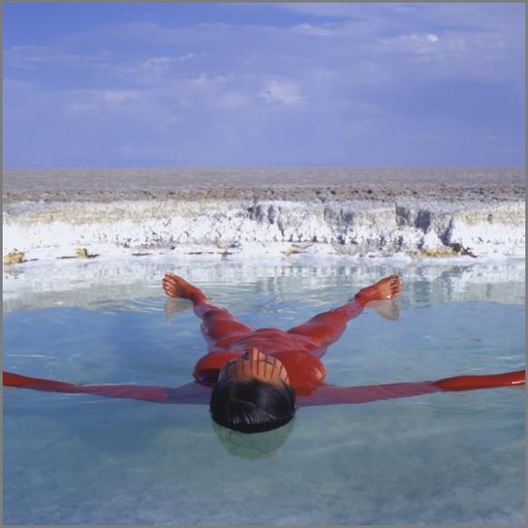 Jean Paul Bourdier - Painted bodies landspace photography - Chicquero Arts - 50
