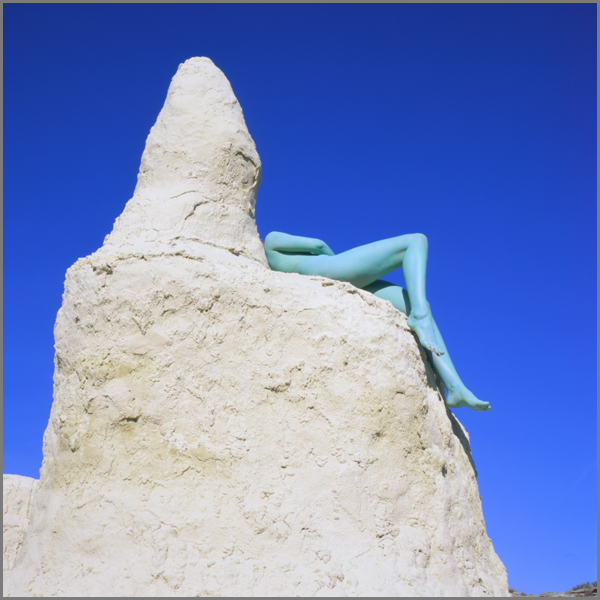 Jean Paul Bourdier - Painted bodies landspace photography - Chicquero Arts - 51