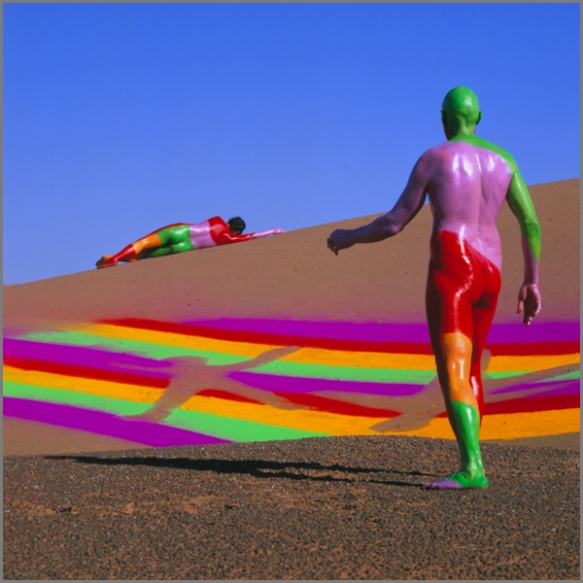 Jean Paul Bourdier - Painted bodies landspace photography - Chicquero Arts - 52