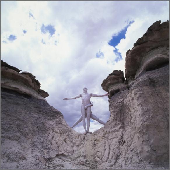 Jean Paul Bourdier - Painted bodies landspace photography - Chicquero Arts - 53