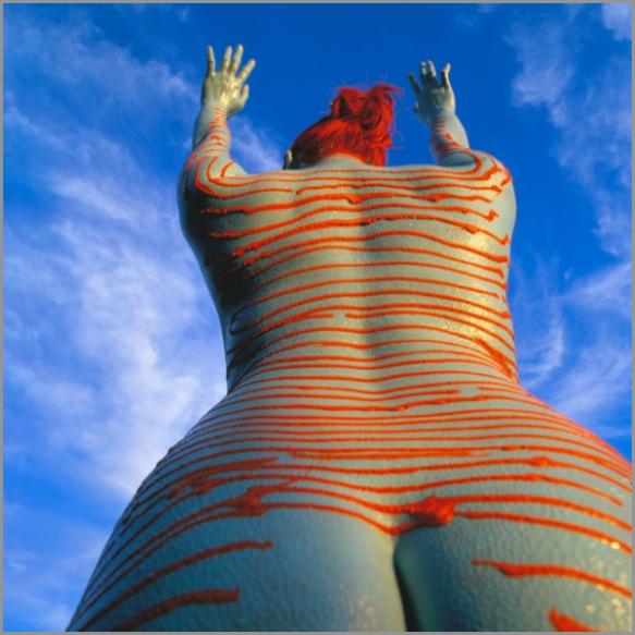 Jean Paul Bourdier - Painted bodies landspace photography - Chicquero Arts - 54