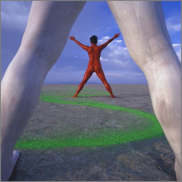 Jean Paul Bourdier - Painted bodies landspace photography - Chicquero Arts - 56