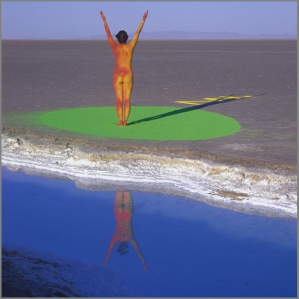 Jean Paul Bourdier - Painted bodies landspace photography - Chicquero Arts - 6