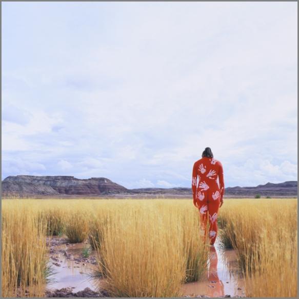 Jean Paul Bourdier - Painted bodies landspace photography - Chicquero Arts - 60