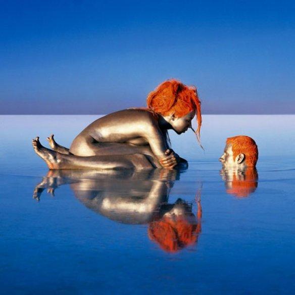 Jean Paul Bourdier - Painted bodies landspace photography - Chicquero Arts - 65