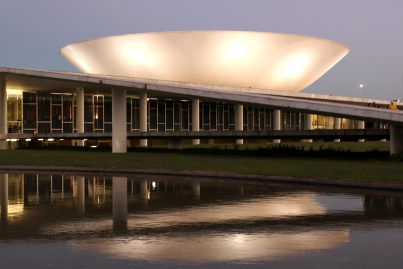Oscar Niemeyer - Brazilian architect - Chicquero Design - Brasilia National Congress 2