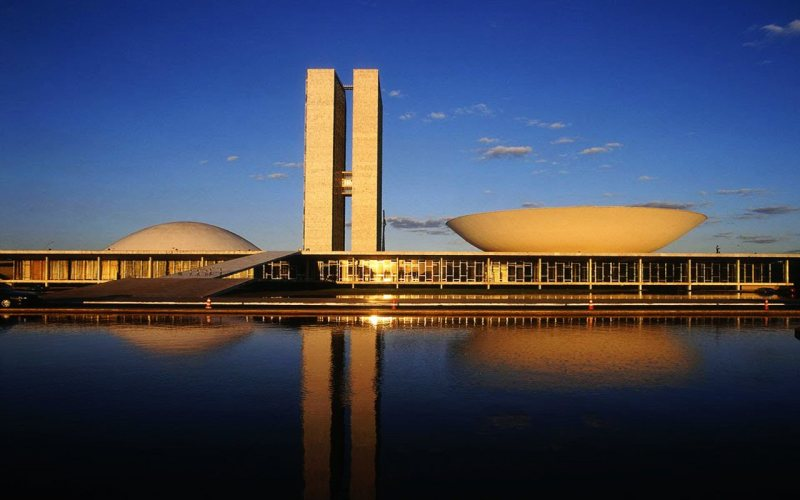 Oscar Niemeyer - Brazilian architect - Chicquero Design - Brasilia National Congress 4