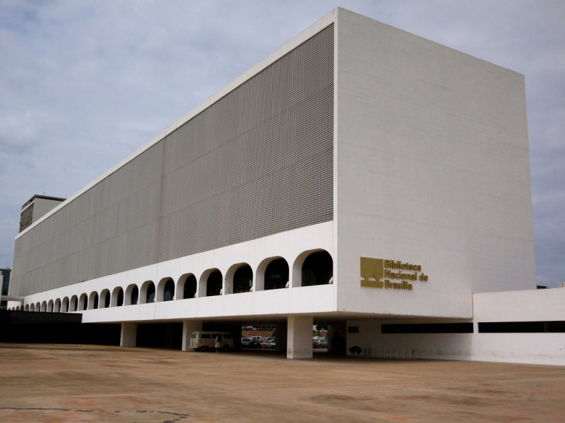 Oscar Niemeyer - Brazilian architect - Chicquero Design - Brasilia national Library