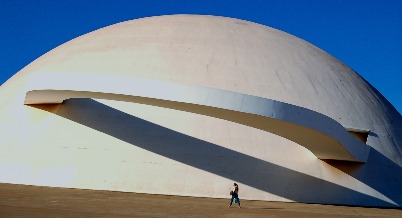 Oscar Niemeyer - Brazilian architect - Chicquero Design - Egg Museum National Museum 4