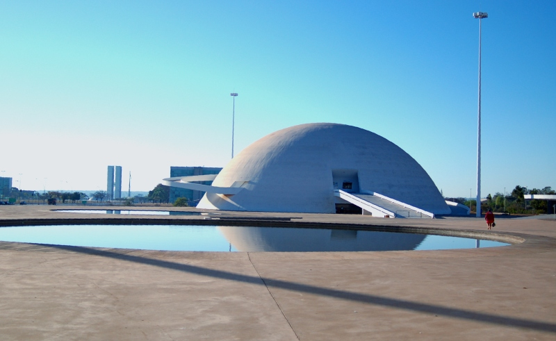 Oscar Niemeyer - Brazilian architect - Chicquero Design - Egg Museum National Museum 5