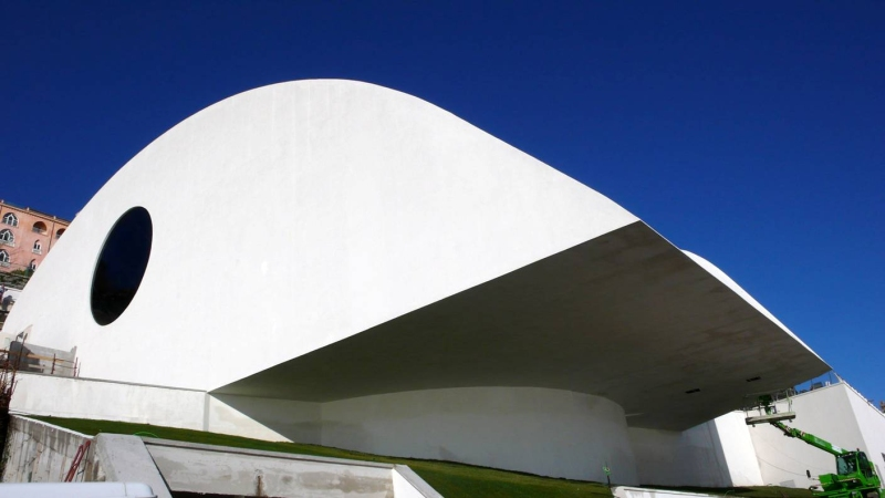 Oscar Niemeyer - Brazilian architect - Chicquero Design - Italy Auditorium Ravello