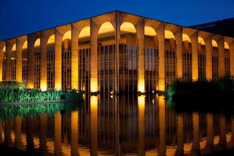 Oscar Niemeyer - Brazilian architect - Chicquero Design - Itamaraty palace 2