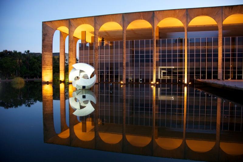 Oscar Niemeyer - Brazilian architect - Chicquero Design - Itamaraty Palace