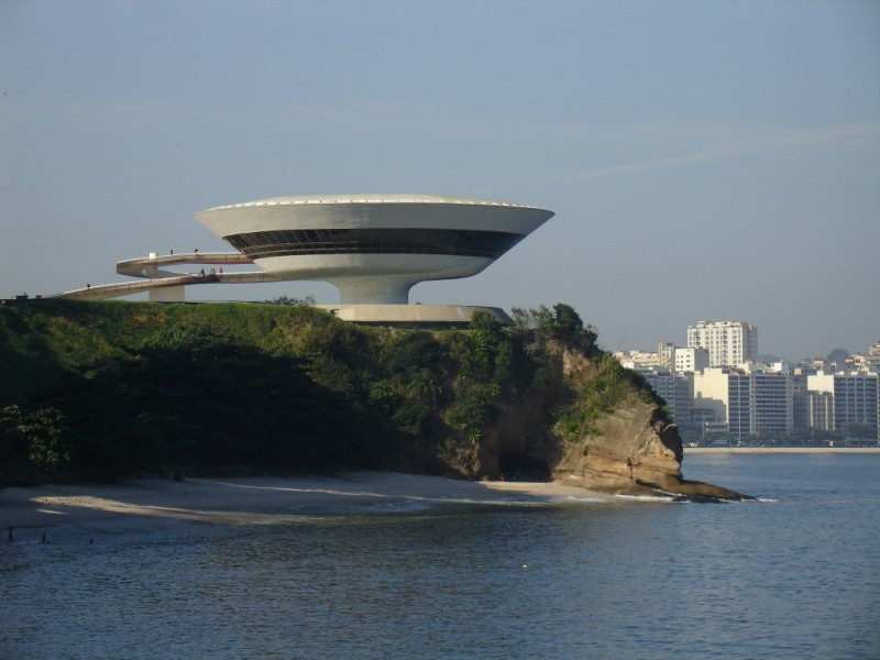 Oscar Niemeyer - Brazilian architect - Chicquero Design - Mac Art museum Niterói Brazil 3