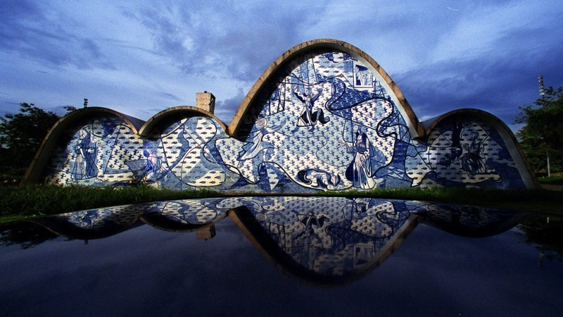 Oscar Niemeyer - Brazilian architect - Chicquero Design - Sao Francisco Church