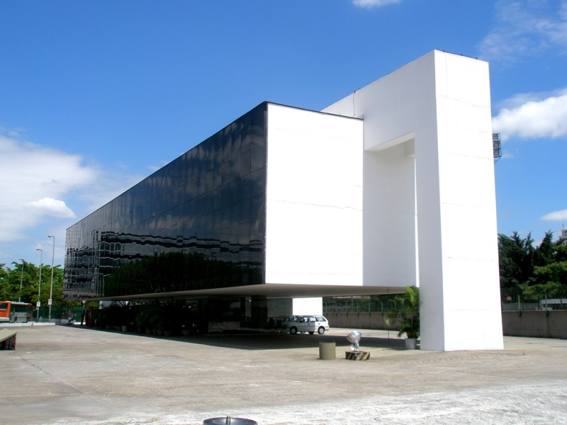 Oscar Niemeyer - Brazilian architect - Chicquero Design - Sao Paulo administration building