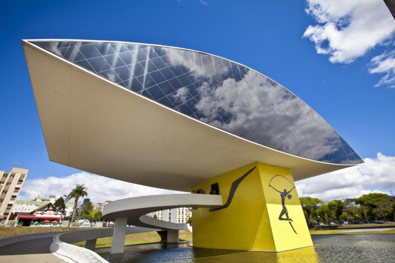 Oscar Niemeyer - Brazilian architect - Chicquero Design - The Eye contemporary museum Curitiba Brazil 4