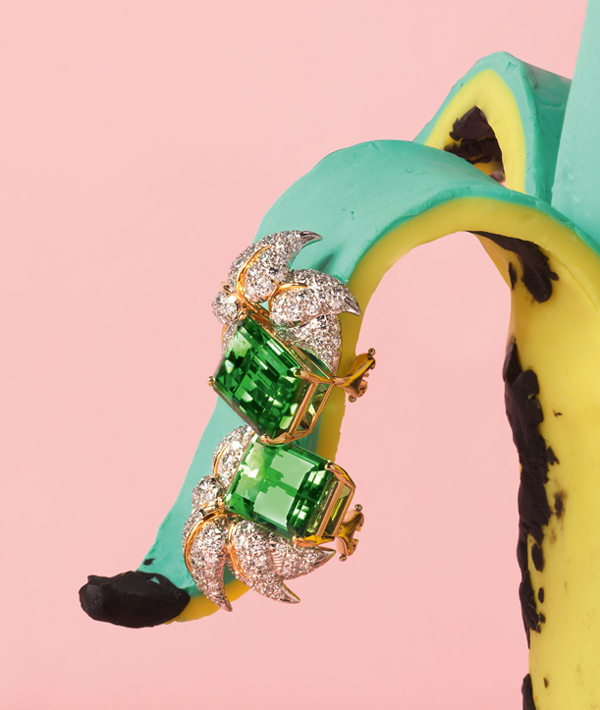 Alexandra Bruel - Vogue Pop art jewelry - Chicquero - Banana 2