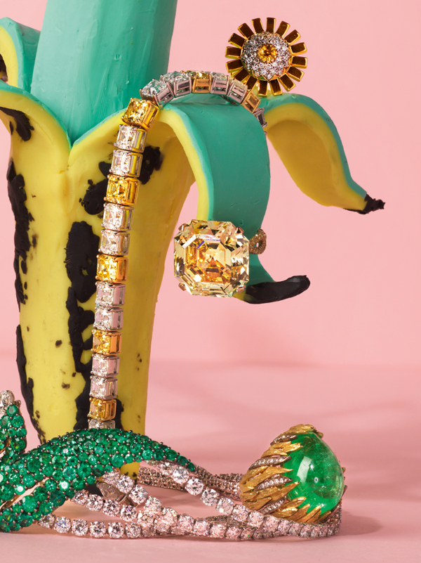 Alexandra Bruel - Vogue Pop art jewelry - Chicquero - Banana 4