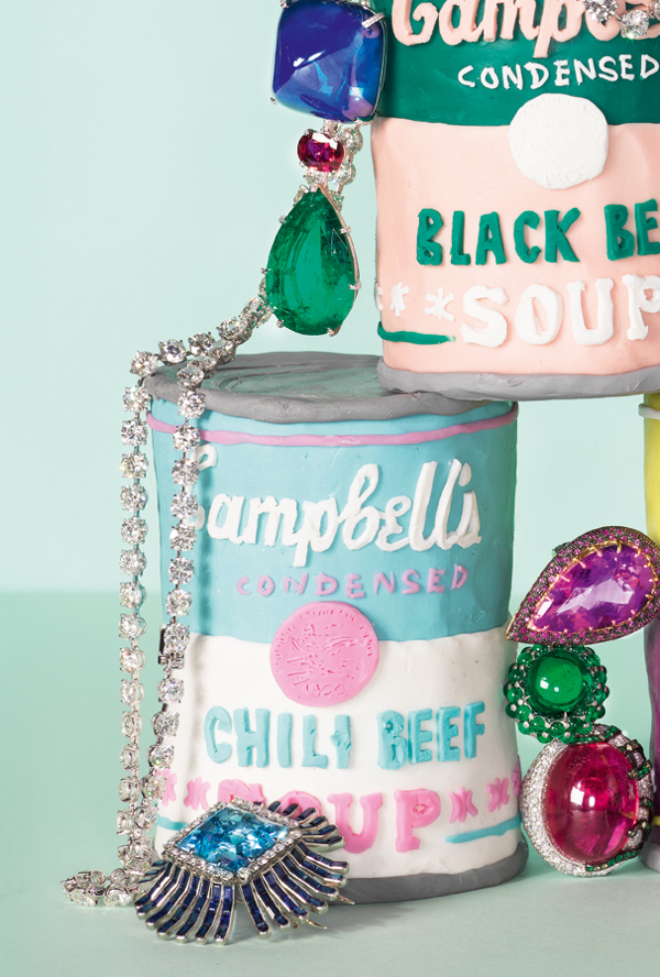 Alexandra Bruel - Vogue Pop art jewelry - Chicquero - Campbells Soup 3