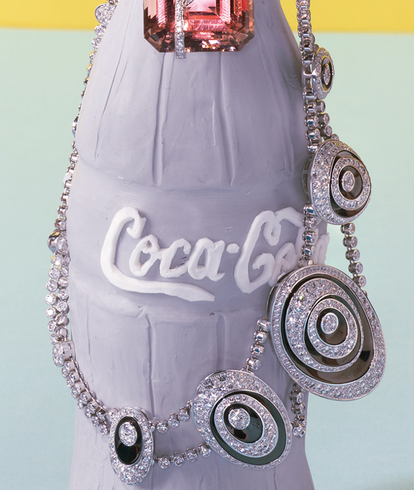 Alexandra Bruel - Vogue Pop art jewelry - Chicquero - Coke Bottle 2