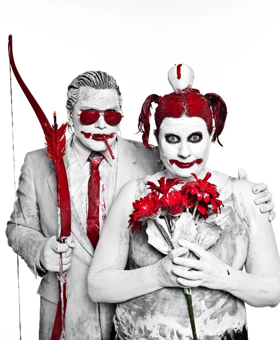 Bloody valentine - Naman creative photography - Chicquero - arrow apple couple