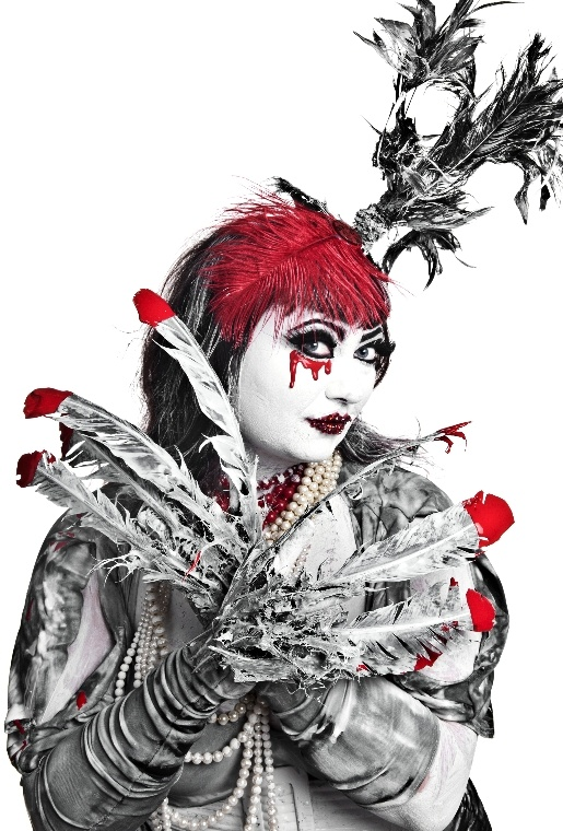 Bloody valentine - Naman creative photography - Chicquero - feathers
