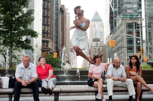 Dancers-Among-Us- chicquero photography - dance in-Columbus-Circle-Michelle-Fleet