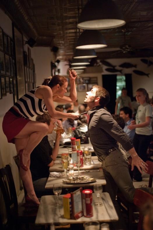 Dancers-Among-Us- chicquero photography - dance in-Fish-Restaraunt-Robert-Kleinendorst-Annmaria-Mazzini59