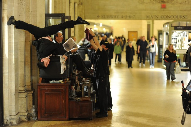 Dancers-Among-Us- chicquero photography - dance in-Grand-Central-Station-Jake-Szczypek