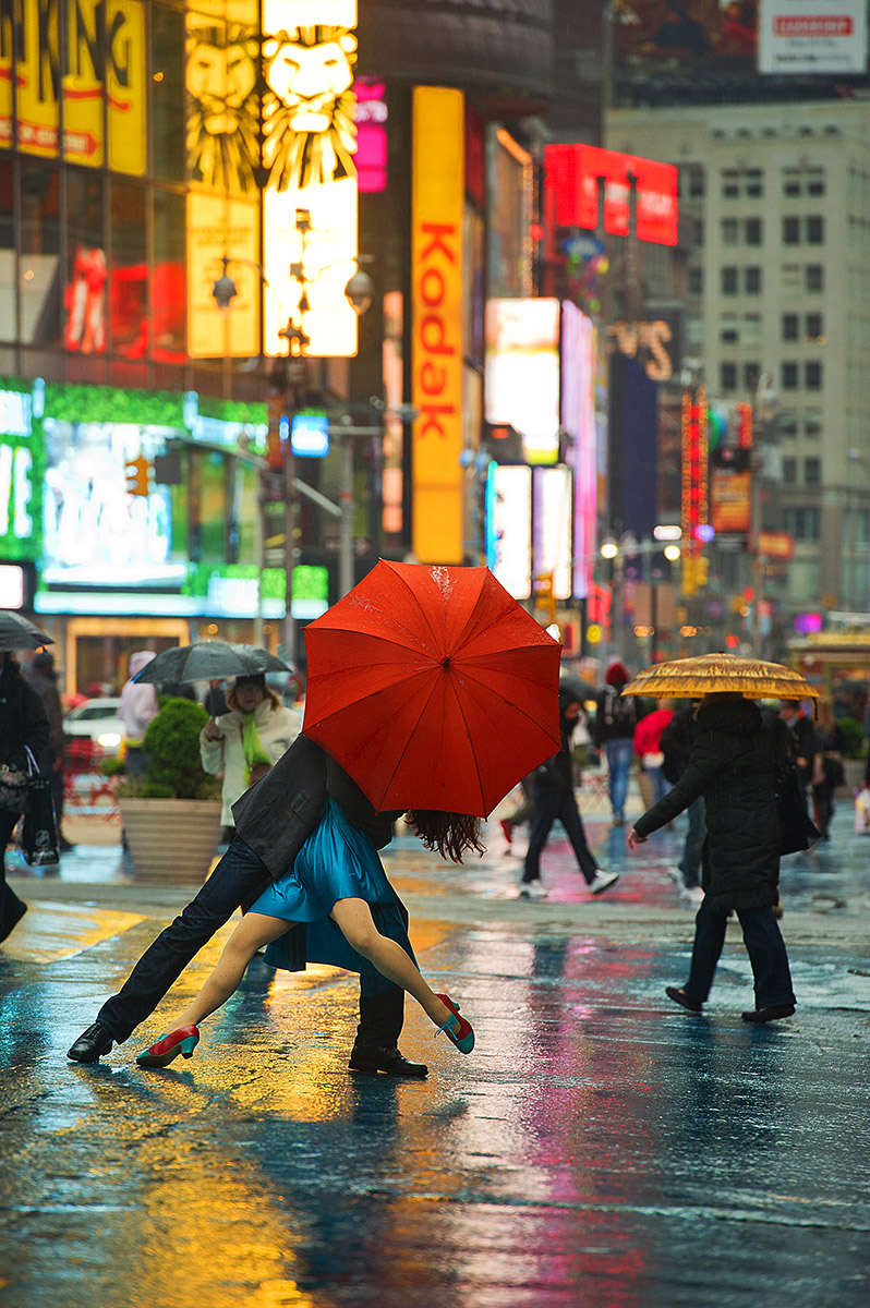 dancers among us  chicquero photography - dance Michael_Jagger_Evita_Arce_Times_Square