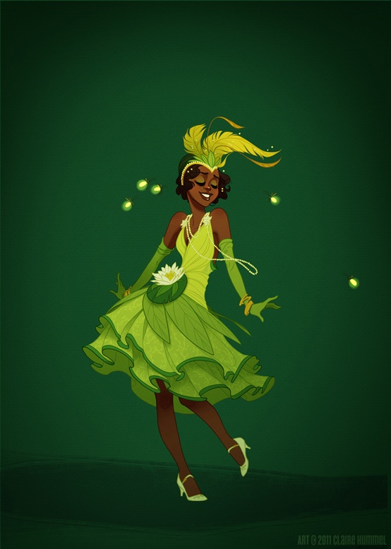 Disney Princess in accurate period clothing - Chicquero Fashion - 2 Princess Tiana